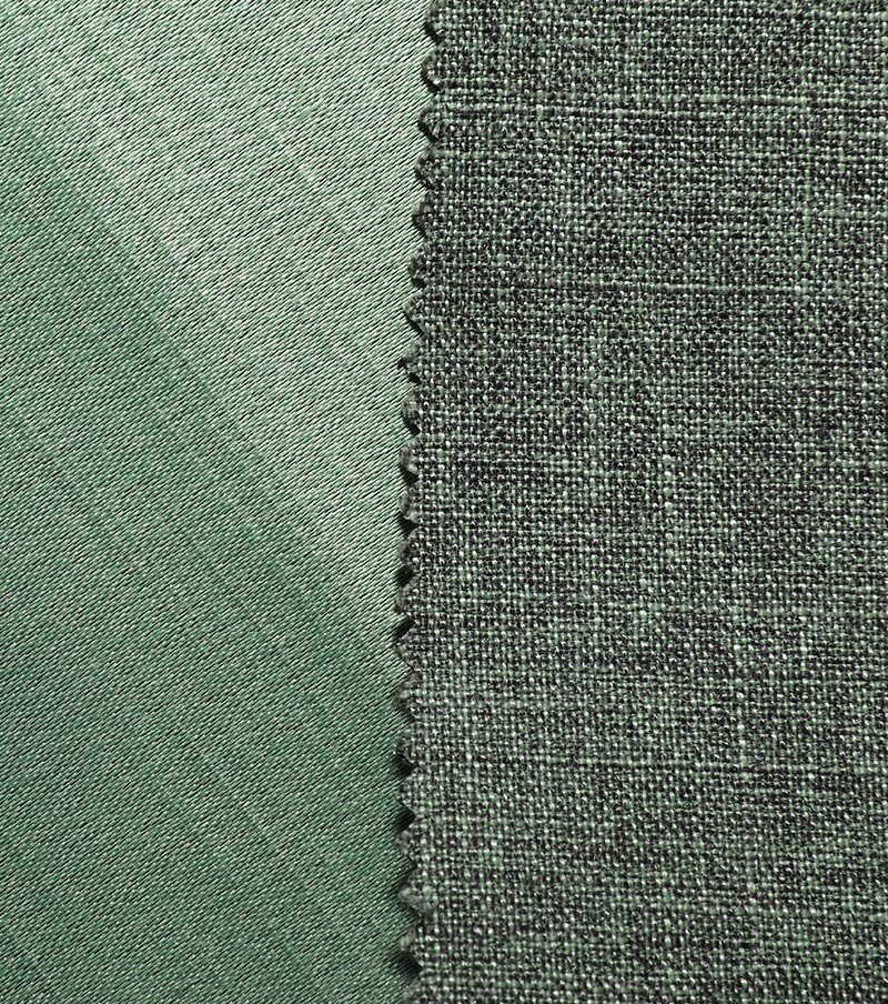 What are the characteristics of woven coarse satin fabri