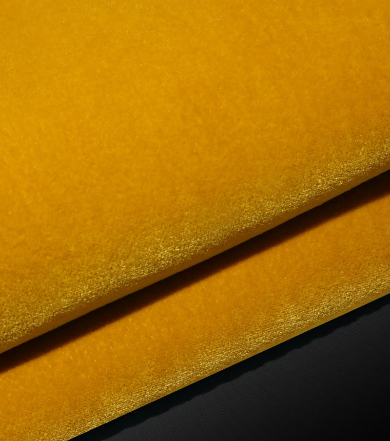 High weight cut plie -Velvet Fabrics(Dignity Style)