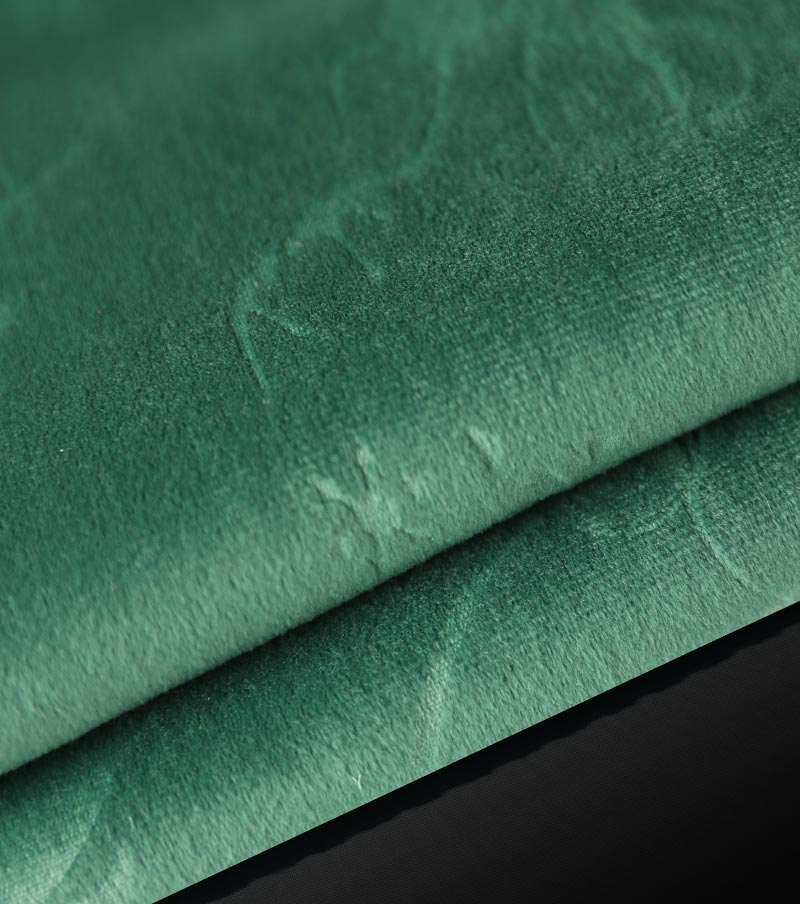 Heavy Weight Velvet Fabrics-Green(Life)