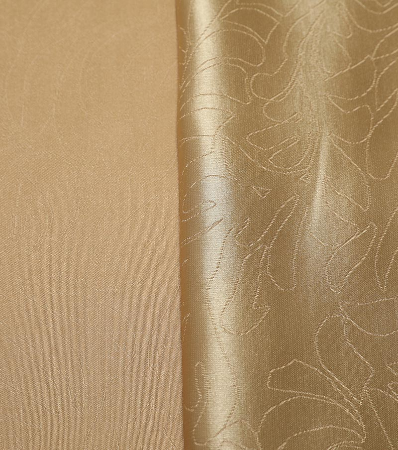 IFR CURTAIN FABRIC-FLOWER PATTERN JACQUARD