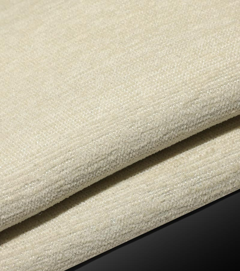 IFR CURTAIN FABRIC-WHITE FLOCKING