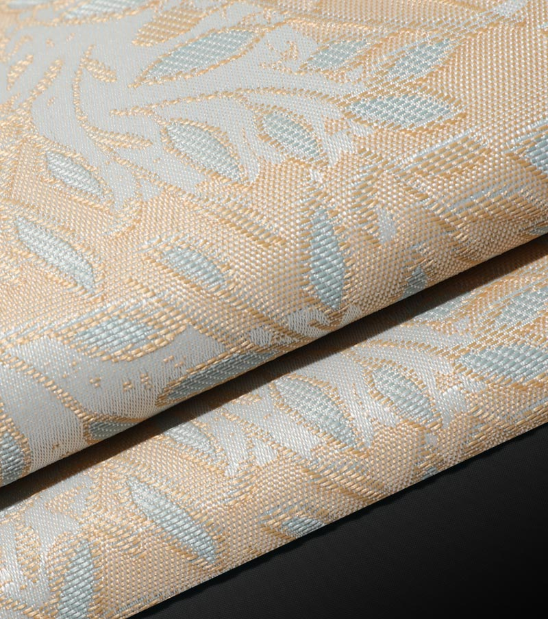 IFR CURTAIN FABRIC-LEAF