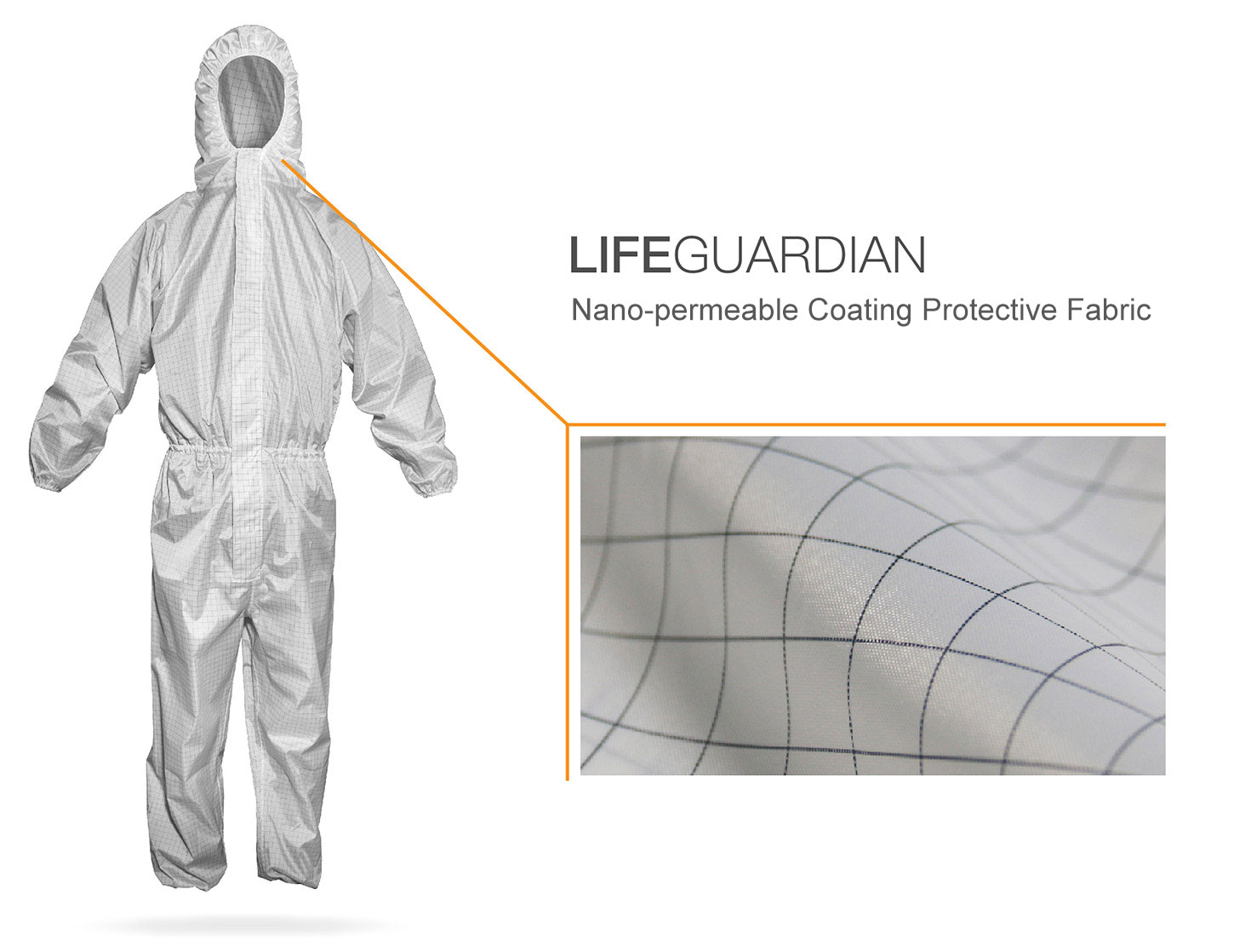 What are the nonwoven materials used in medical protective clothing