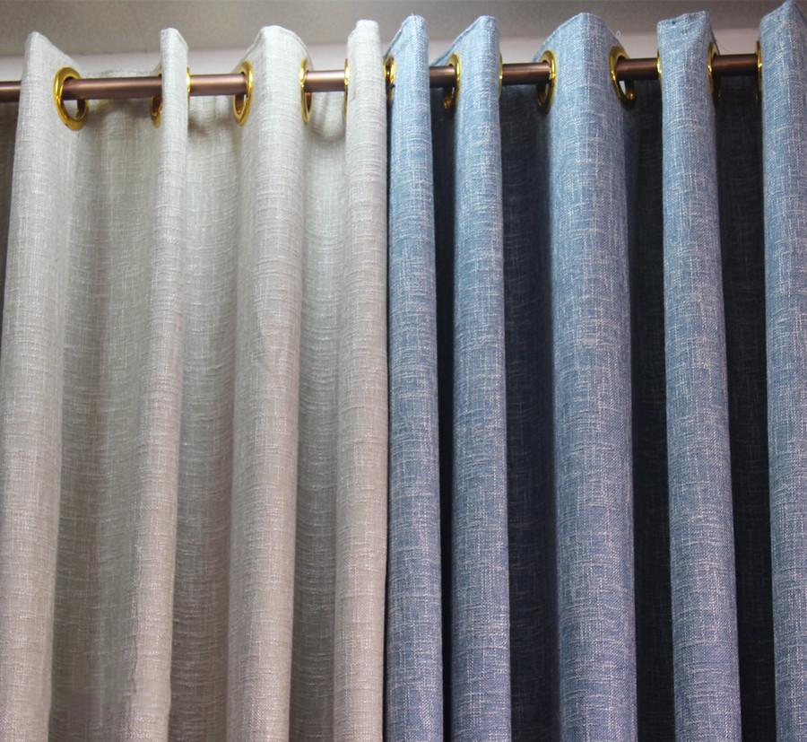 The most eye-catching matching method of living room curtains