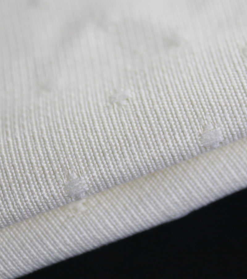 IFR CURTAIN FABRIC-Woven jacquard fabric